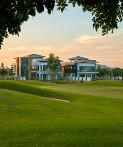 Prestige-Golfshire-Villa-View-of-the-Property-from-the-Golf-Course