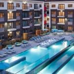 Godrej Royale Woods swimming pool