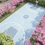 The Imperial Address Chandapura basketball court
