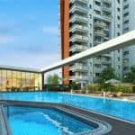 Sobha Saptrang Swimming pool